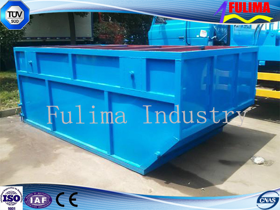 Customized Painted Steel Dustbin for Garbage Trailer (WB-002)
