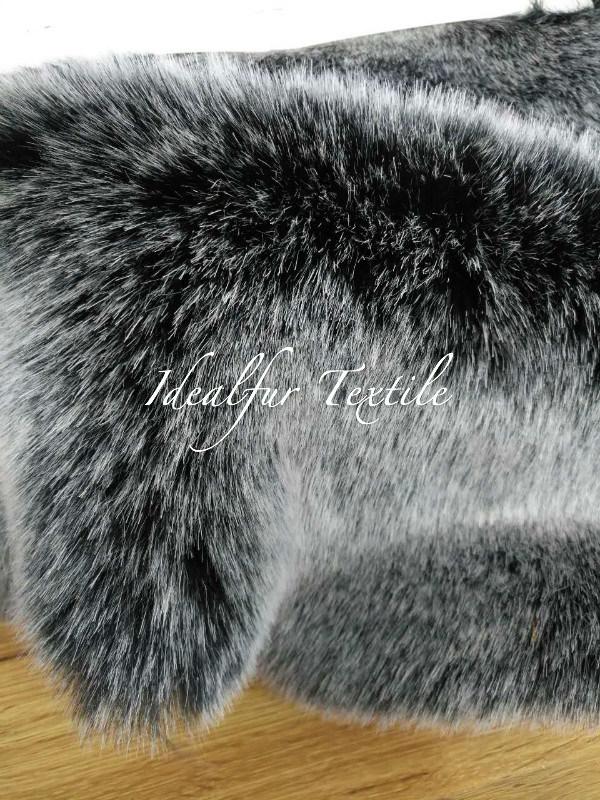 High Quality Imitation Tricot Discharge Fur /Artificial Fox Fur