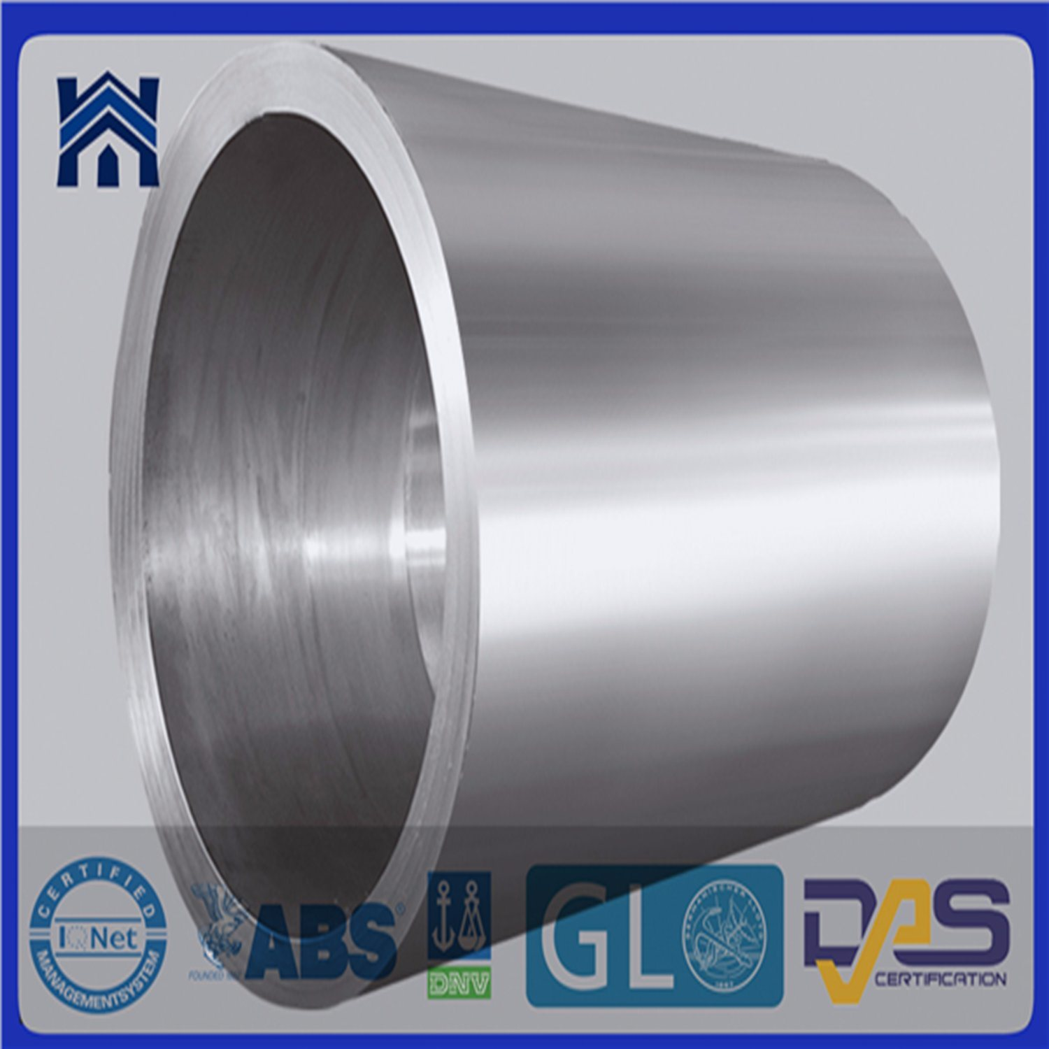 Steel Products Hot Forging Tube Forging Ring for Thermal Power