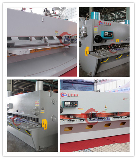 QC11k Hydraulic Guillotine Shearing Machine