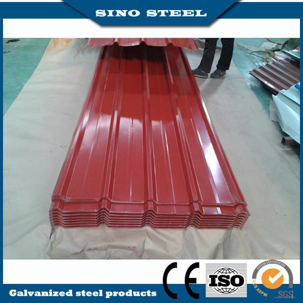 Glossy Color Coated PPGI Corrugated Steel Sheet