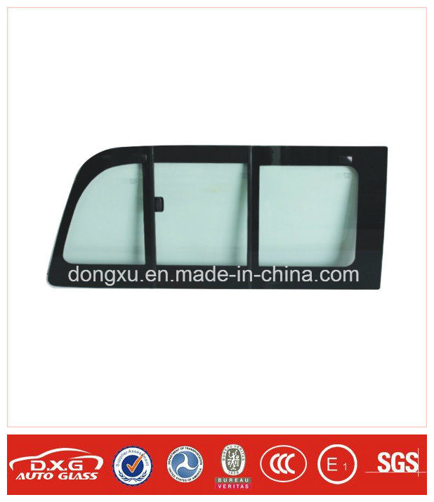 Auto Glass Sliding Window Glass for Toyota Hiace Rh200