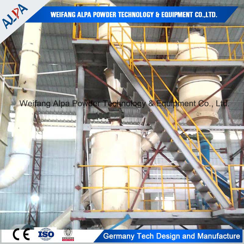 Felspar Ground Mill Production Line Ball Mill with Air Classifer
