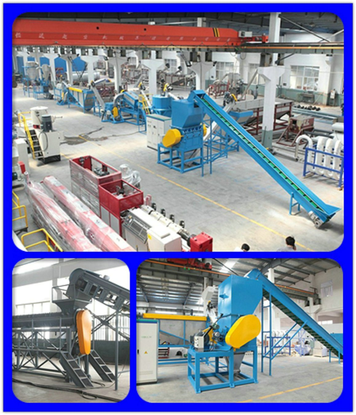 New Pet Bottle Recycling Prodution Line 1000kg/H Promotion