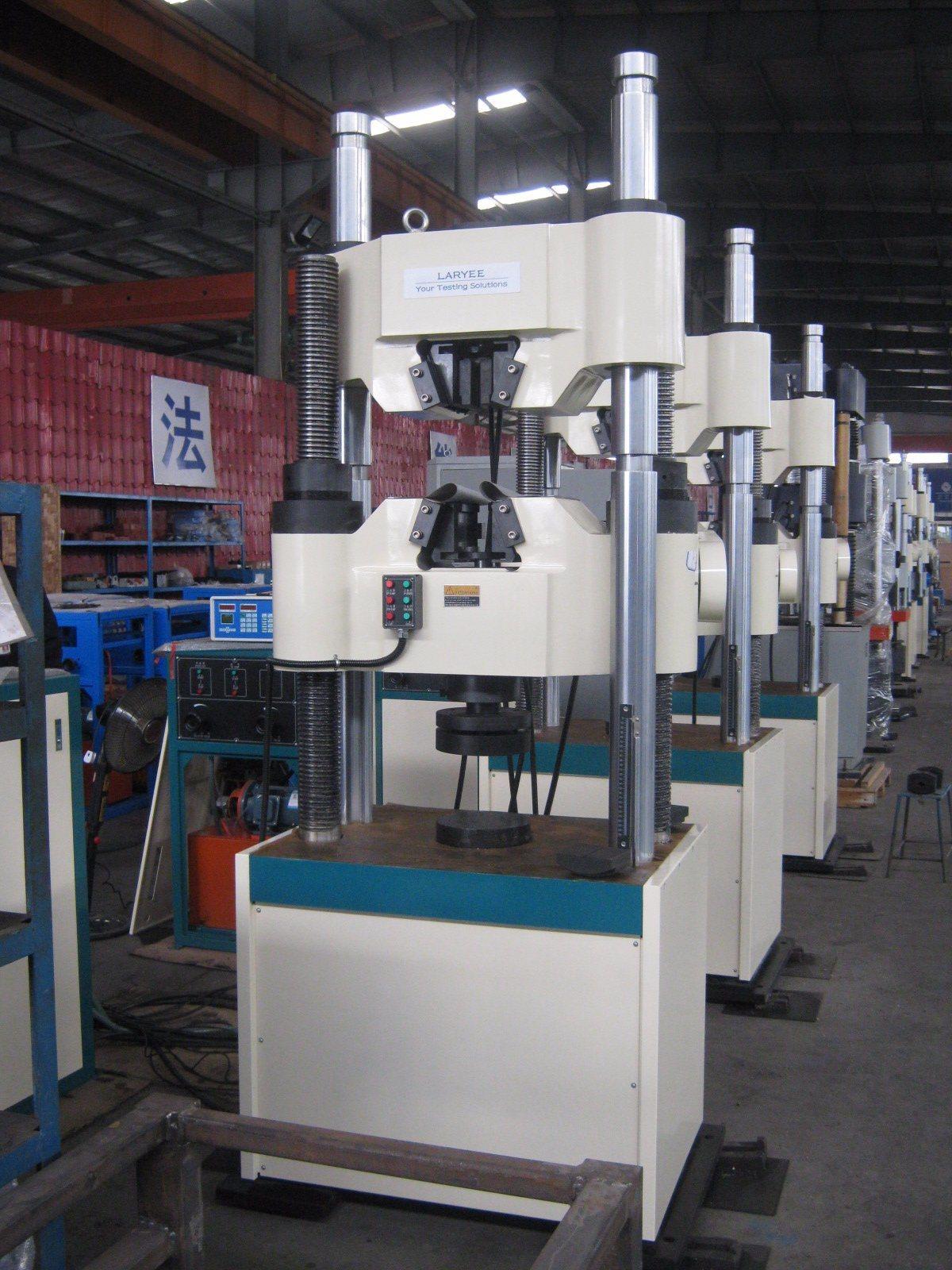 Hydraulic Servo Material Testing Machine (WAW300kN-2000kN)