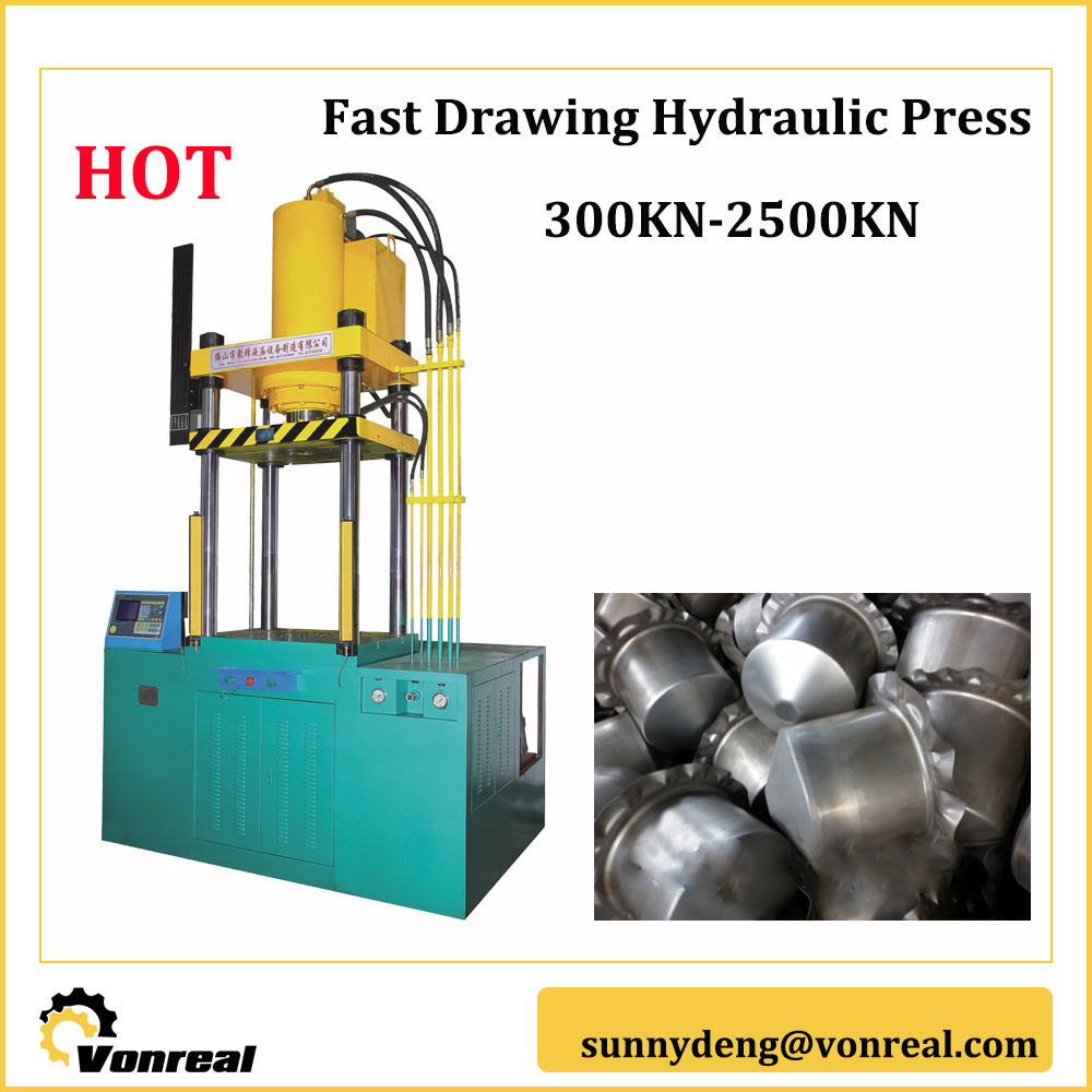 Metal Sheet Forming Fast Drawing Hydraulic Press