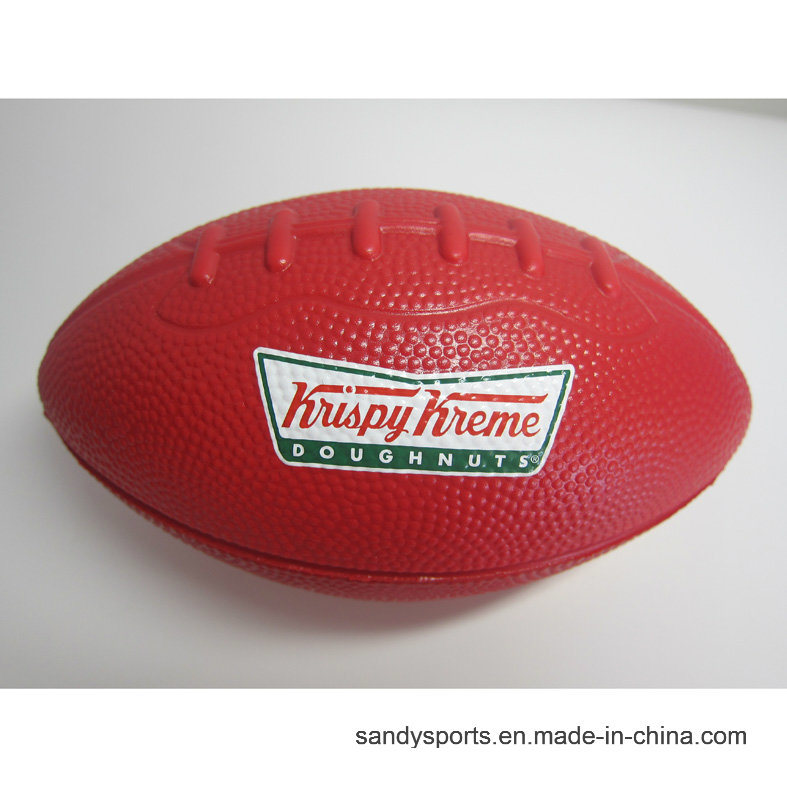 Custom Logo PU Foam American Football