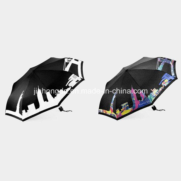 Color-Changeable When Wet Folding Umbrella (YSC0005)