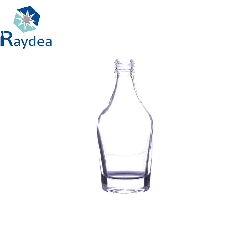 125ml Flint Glass Wine Bottle with Screw Cap