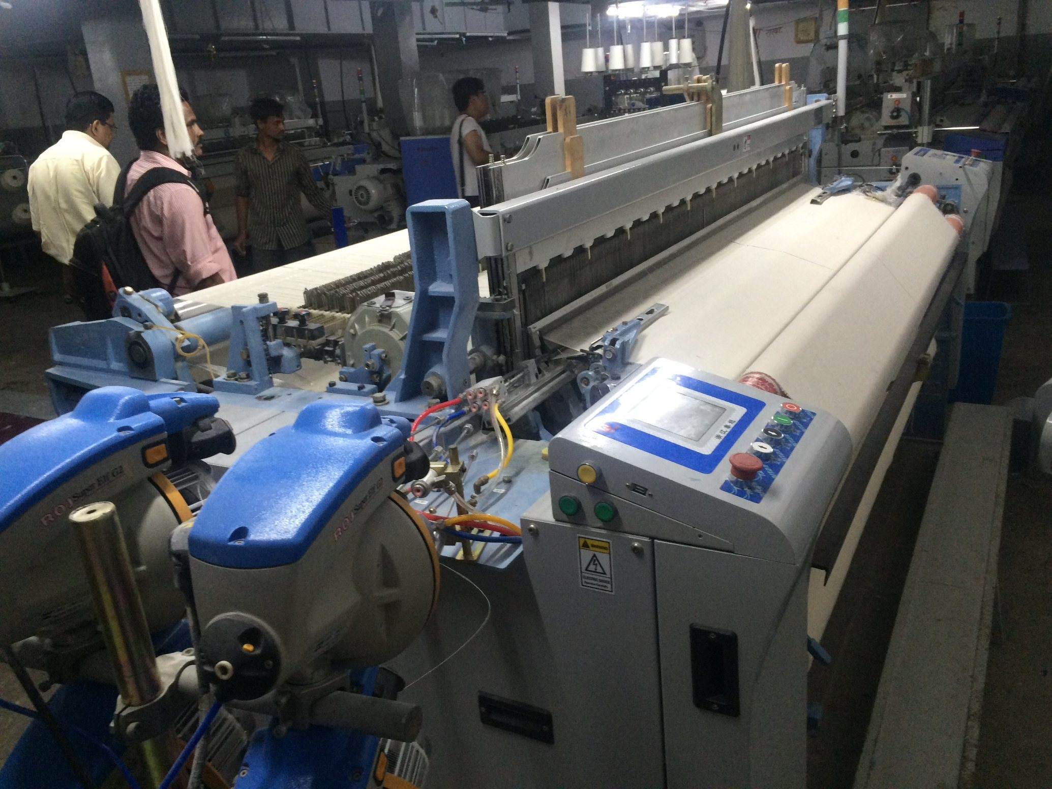 Superweight Jw 608 Water Jet Loom Rpm550