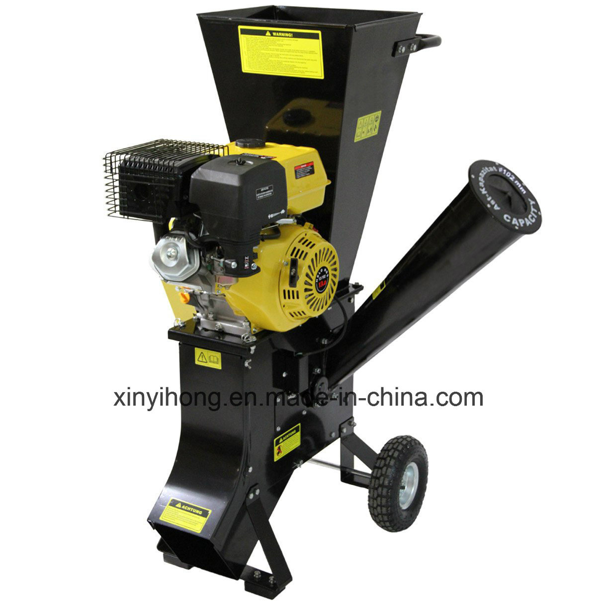 389cc Wood Chipper Shredder with 102mm Chipping Capacity