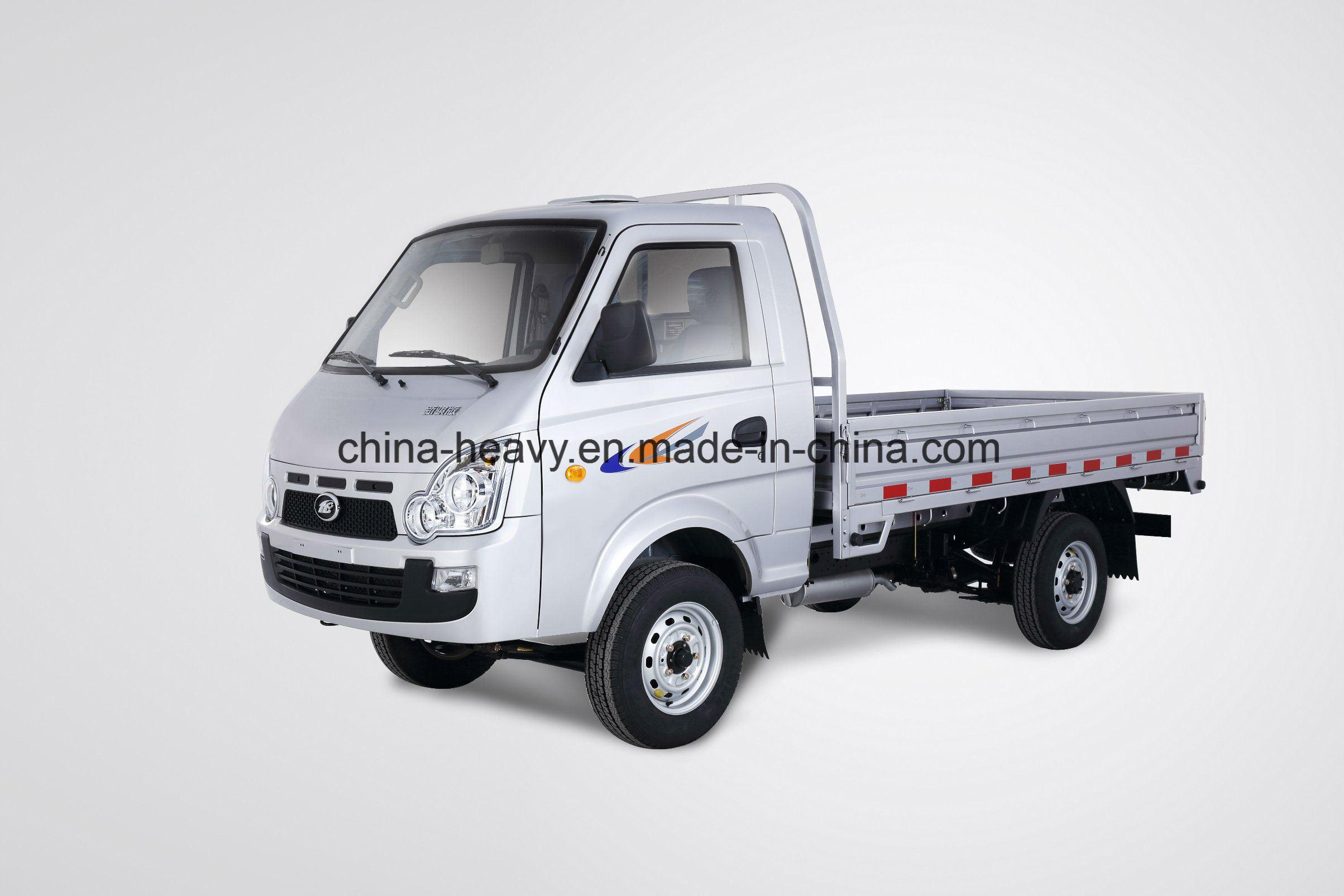 Hot Sale Rhd/LHD 1.2L Gasoline 62.5 HP Single Row Mini/Small Cargo Lorry Truck