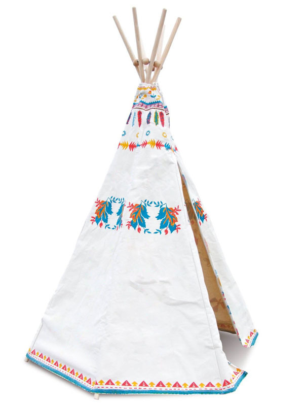 Indian Tepee Play Tent for Kids