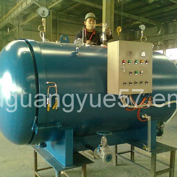 Rubber Sac Boiler Vilcanizing Machine for Rubber Moulding