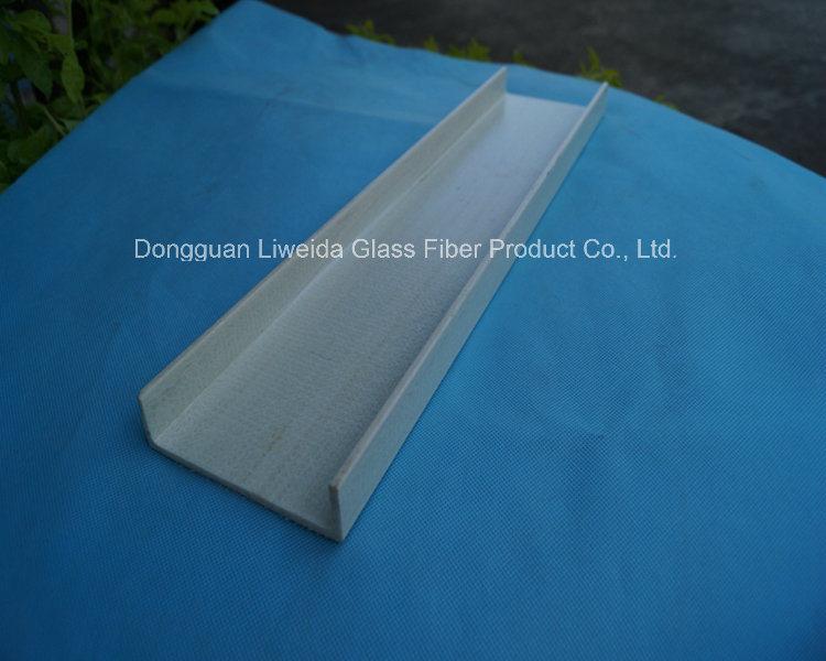 Anti-Corrosion, Long Service Life FRP Channel, FRP Profiles, Fiberglass Channel