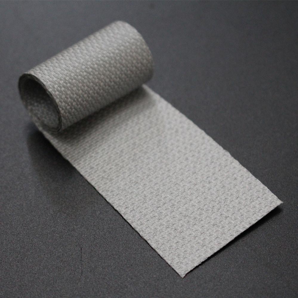 High Temperature Silicone Rubber 2 Side Coated Fiberglass Tape Wrap