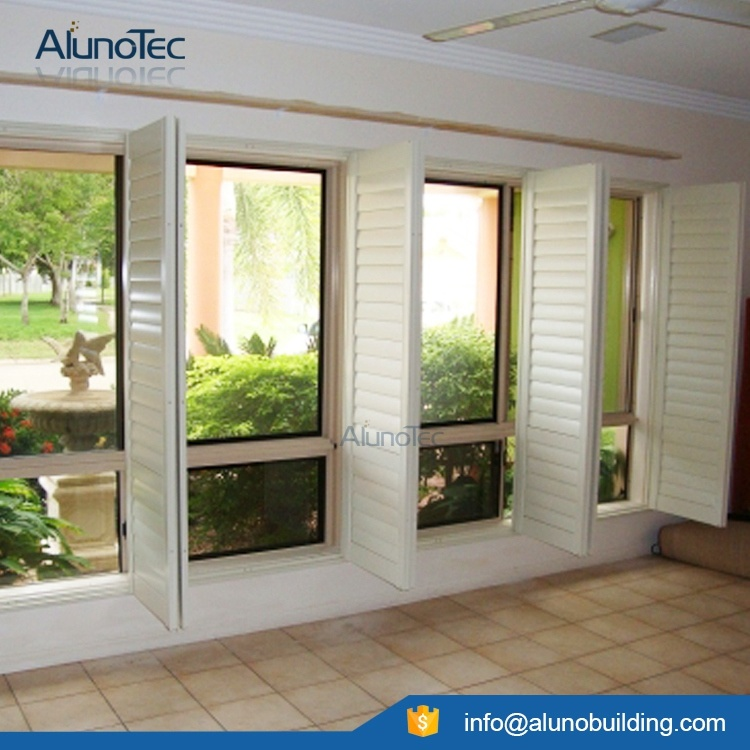 Window Shutter Sliding Shutter Aluminum Adjustable Exterior Shutters