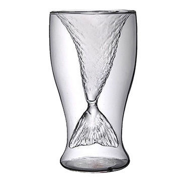 OEM 2017 Popular Design Double-Wall Glass Tumblers
