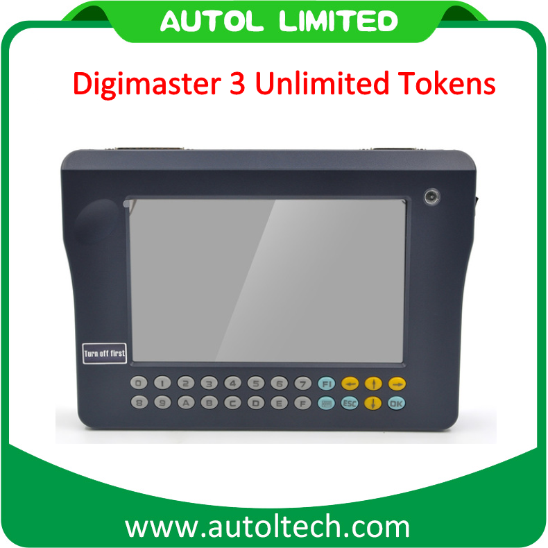 Unlimited Tokens Digimaster 3 Car Mileage Reduce Tool Original Yanhua Brand Digimaster III Update Online with Full Cables