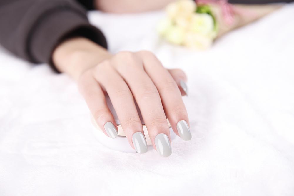 Fashion Pure Color adhesive Nail Art Sticker