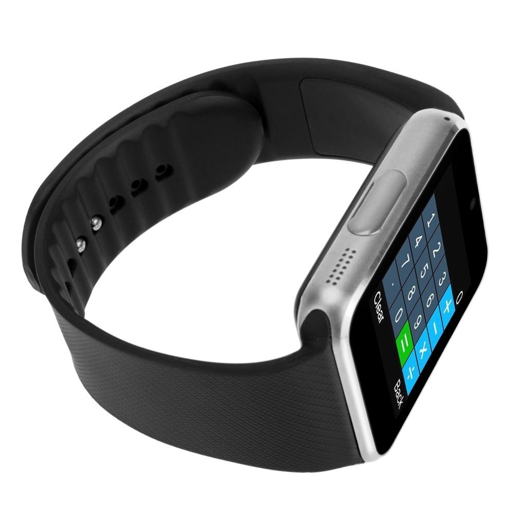 Gt08 One Bluetooth Phone Smart Wrist Watch Phone with NFC and GSM Standalone Function - iPhone/Android Compatible