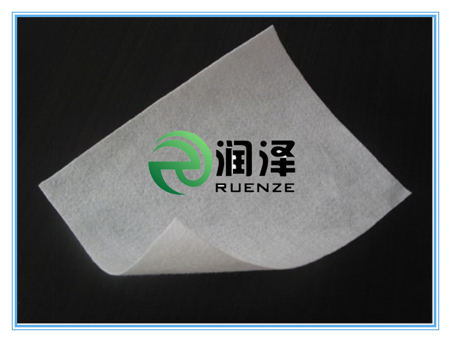 Polyester Short Fiber Needle Punched Geotextile