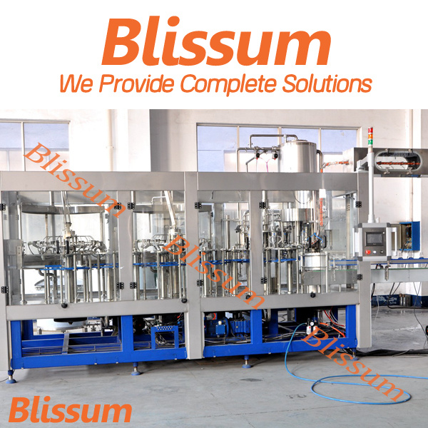Full Automatic Plastic Bottle Juice Making Bottling Machine