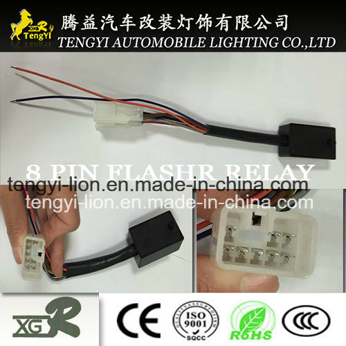 12V LED Car Flasher Relay motorcycle Acccessary