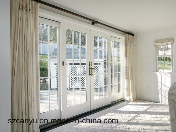 Aluminium Frame French Window and Door for Home