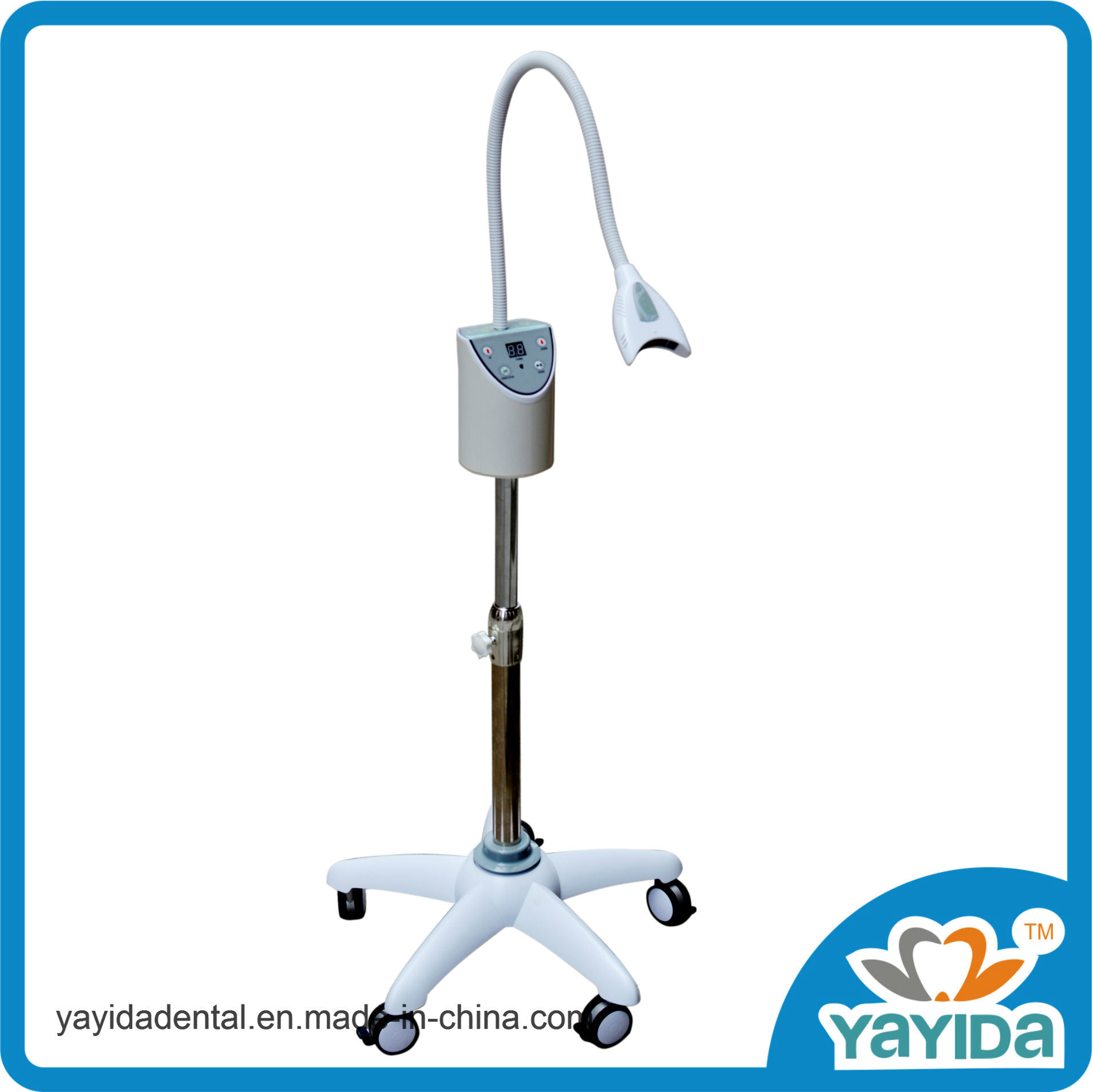 Dental Teeth Whitening Unit with Four High Power Blue LED Lamps