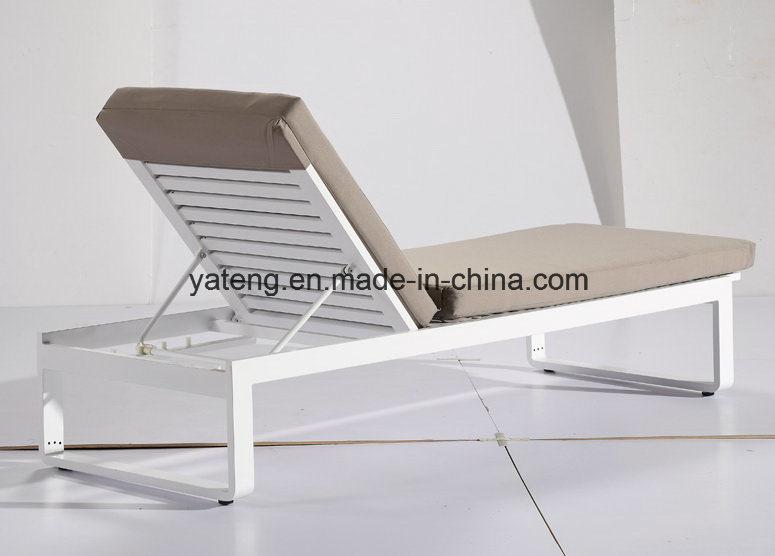Top Quality New Design Outdoor Patio Sun Lounge Aluminum Lounge Using Garden & Pool Side /Sea Side