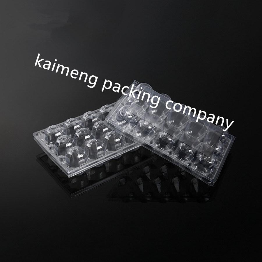 Shanghai Factory Supply Plastic Quail Egg Trays for 15cells Quail Eggs Package (quail egg trays)