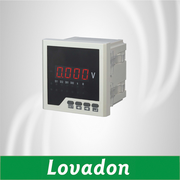Lh-DV21 Single Phase Digital Voltage Meter 120*120mm Digital Voltmeter with RS485