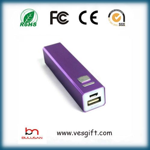 2600mAh Mobile Charger Li-ion Battery Portable Power Bank