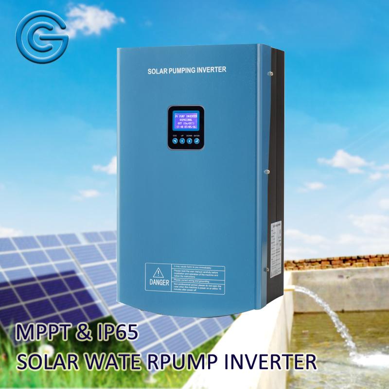 3 Phase AC 380V 2200W Solar Power Hybrid Water Pump Inverter