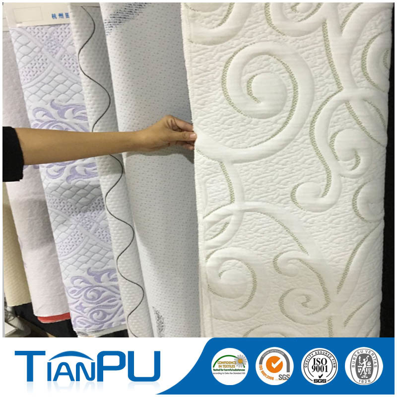 Eco Friendly Waterproof Treatment Mattress Ticking Fabric for Mattress