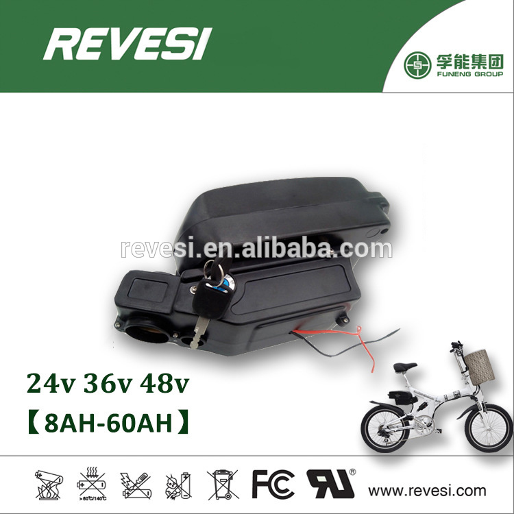Top Quality Guarantee Small Frog Style 36V Battery for E-Bike