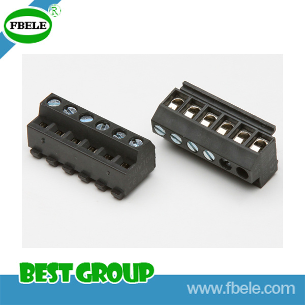 Screwless Terminal Block/Barrier Terminal Block (RoHS)