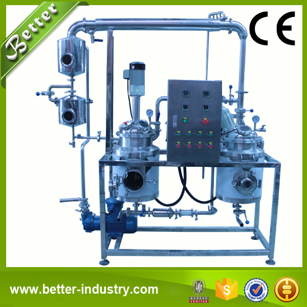Hot Reflux Solvent Herbal Evaporator Extraction Equipment