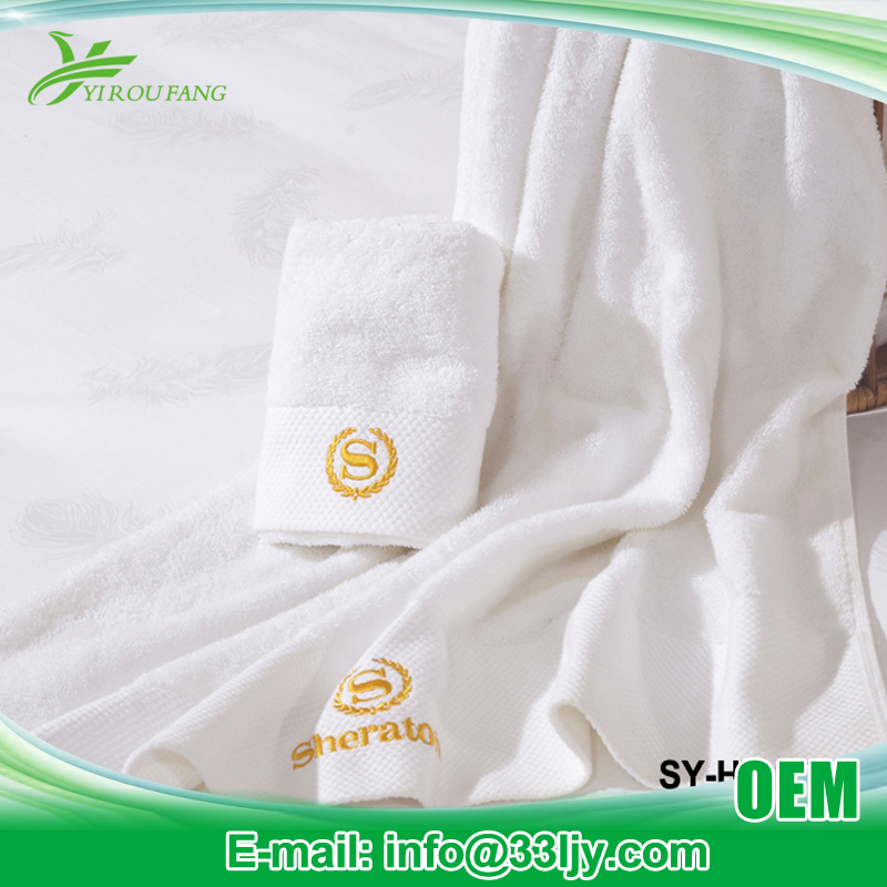 Customized Size Very Cheap Bath Sheet Towel for Hotel