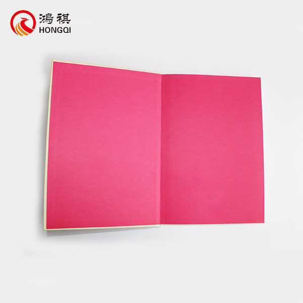 Hard Cover Notebook with Gold Foil