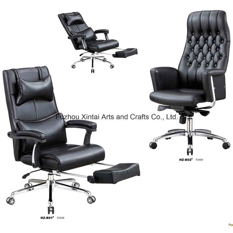 Ajustable Office Chair with Steel Leg