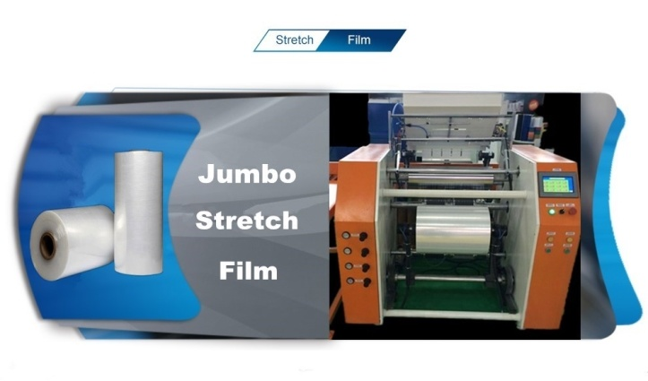 100% Virgin Jumbo Roll Stretch Film with Great Price