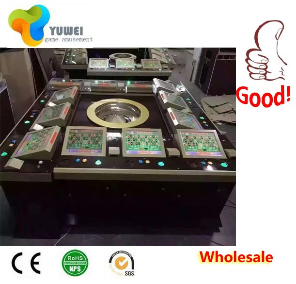 Professional Casino Super Rich Man Roulette Wheel Table Machine for Sale