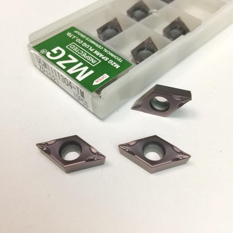 55 Degree CNC Cerament Ceramics Tungsten Carbide Indexable Insert