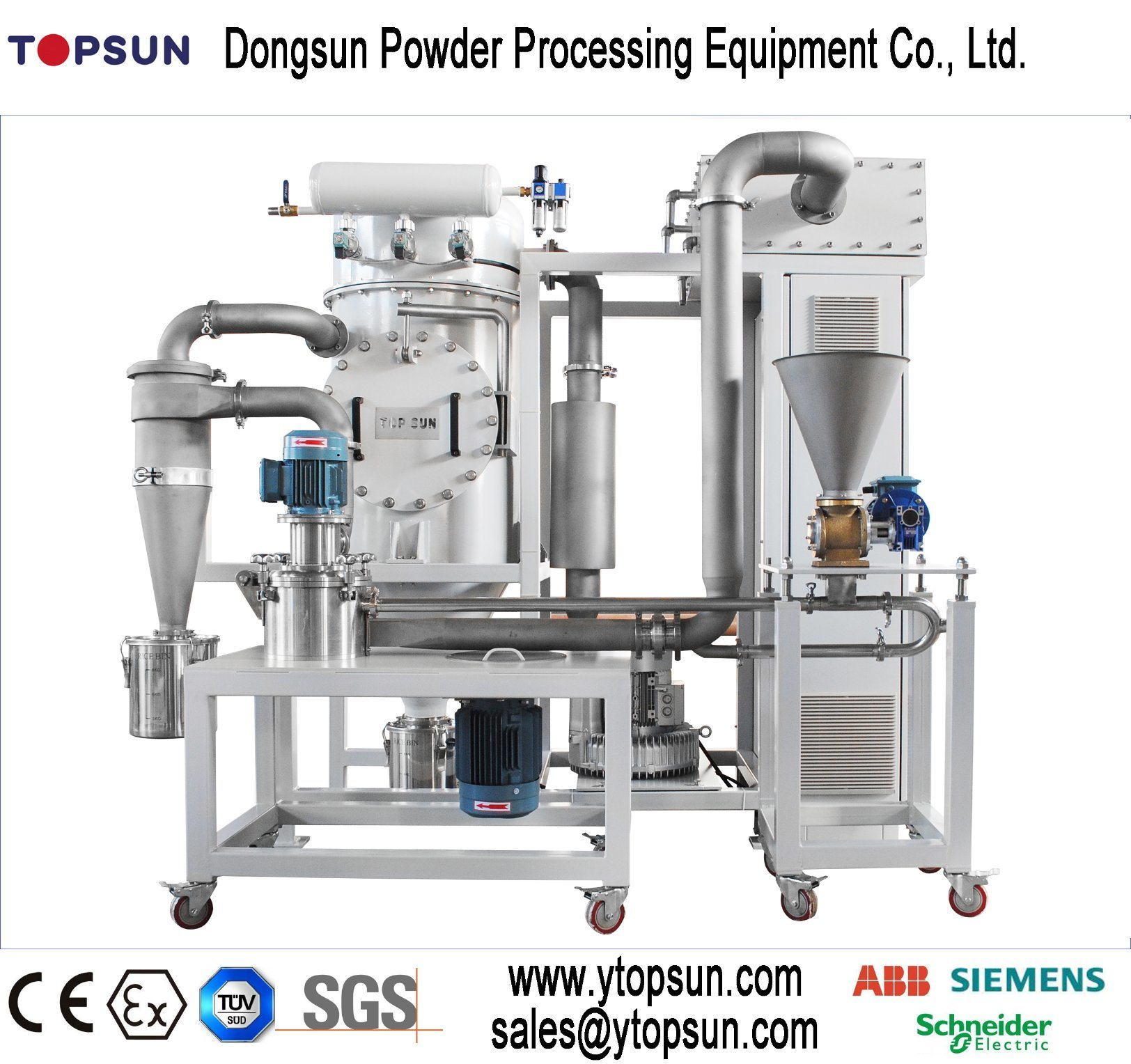 Powder Coating Equipment/Small Volume Grinding Mill
