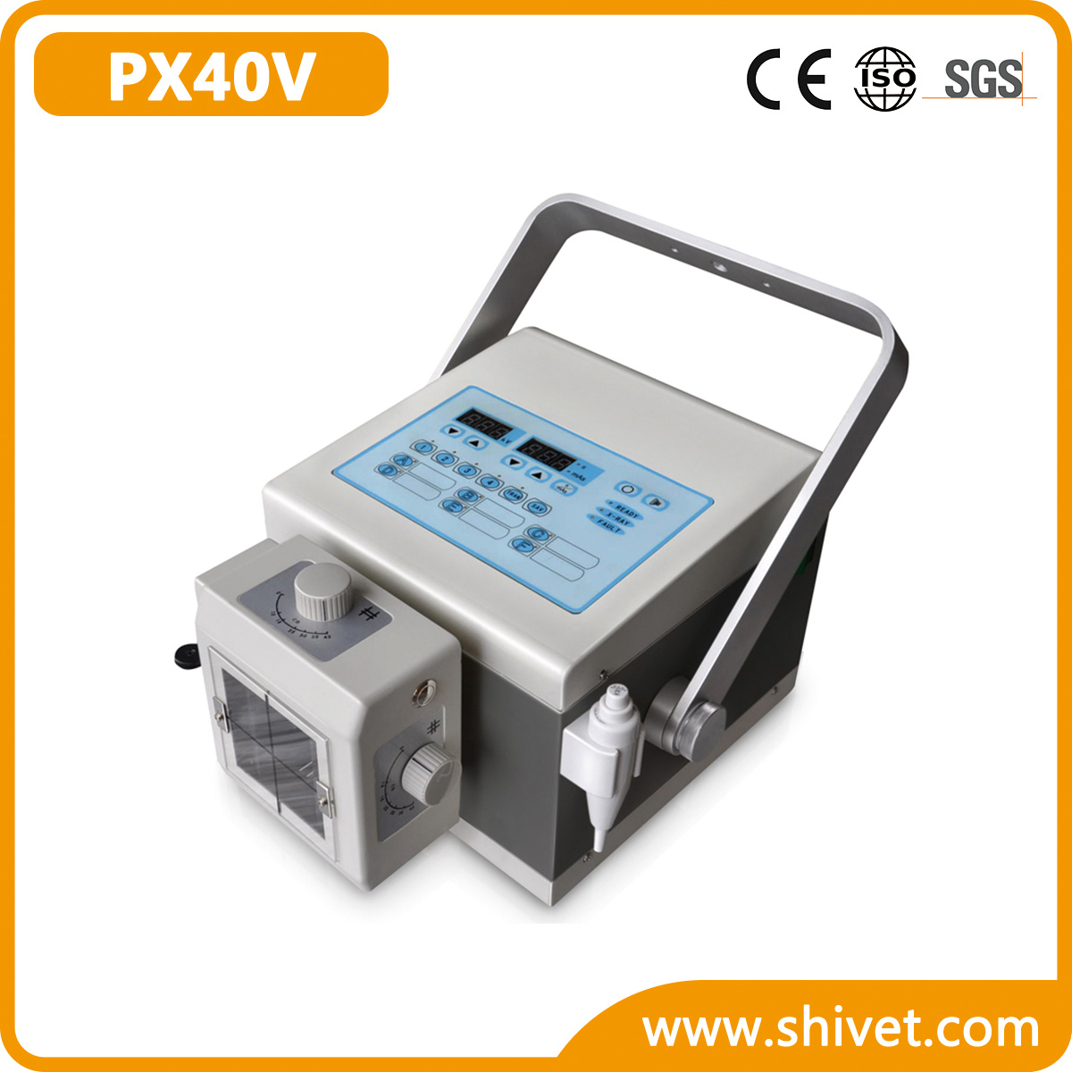 Portable High-Frequency Veterinary X-ray Machine (PX40V)