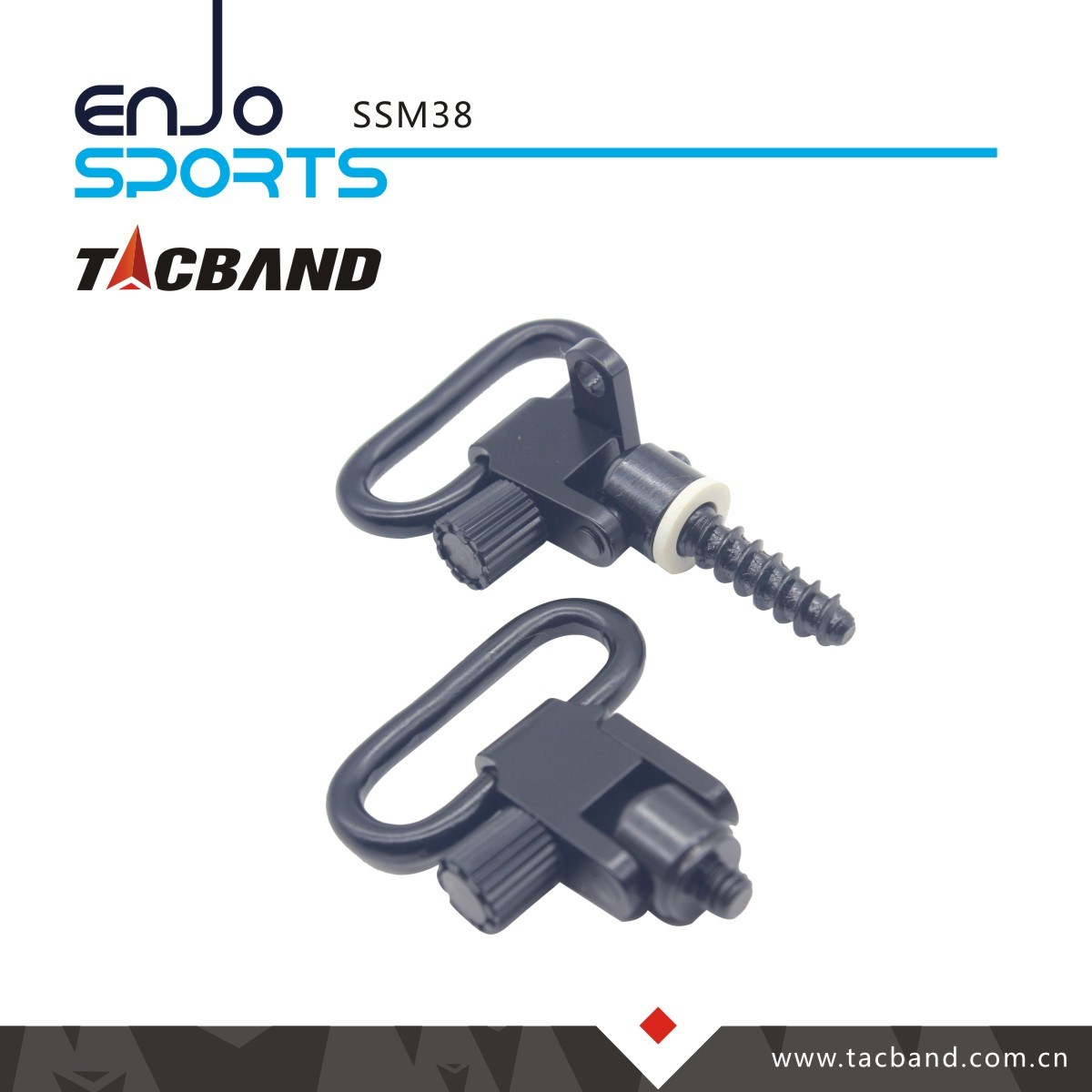 Qd Sling Swivel - Fore End Band Style - Lever Action