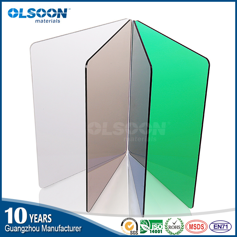 Olsoon 0.8-12mm Extruded Acrylic Plastic Sheet Color Acrylic Sheet