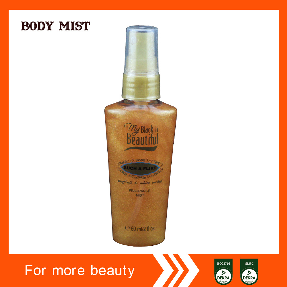 Middle East Golden Perfume Body Mist Wholesale